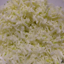 Coconut and Lime Mixture